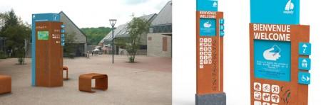 Signalétique touristique pour le Valjoly