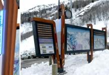 Panneaux touristiques
