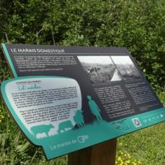 Plan d'interprétation des zones humides à Glisy