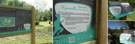 Signalétique d'Interprétation Milieux humides – Marais de Glisy