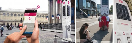 Mobilier Urbain Connecté Touristique – Ville de Paris