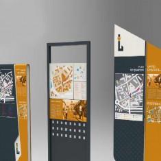 Coeur de Ville de Louviers, une étude signalétique urbaine et touristique