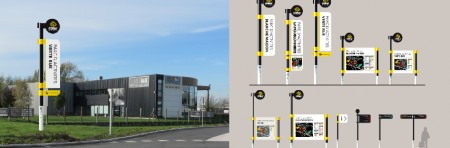 Signalétique Parc d'Activité Flandre Intérieure