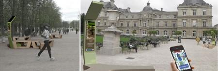 Mobilier urbain intelligent pour la ville de Paris