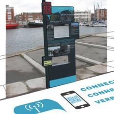 Une signalétique interactive pour le port de Dunkerque