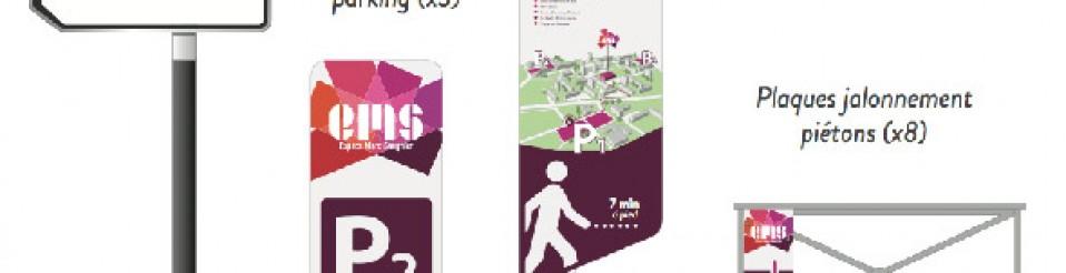 Etude signalétique pour la ville de Mont Saint Aignan