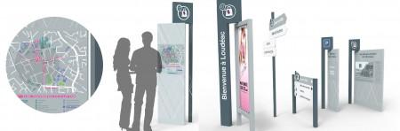 Signalétique Commerces et Services – Ville de Loudéac