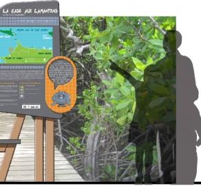 Signalétique d'Interprétation et Circuit Pédagogique en Guadeloupe
