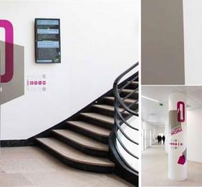 Signalétique Intérieure – Centre de Simulation en Santé – Faculté de Médecine de Lille – Université de Lille