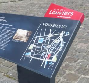 Signalétique urbaine et patrimoniale – Ville de Louviers