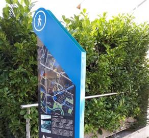 Signalétique urbaine – Ville de St Gény Pouilly
