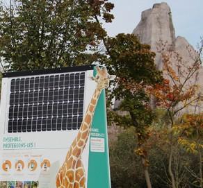 Signalétique Connectée – Zoo de Paris