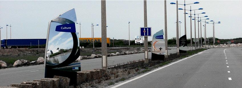 Signalétique port de Dunkerque